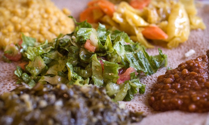 Pan Africa Grill - Seaview: Three-Hour Ethiopian Cooking Class for One or Two or $15 for $30 Worth of African Cuisine at Pan Africa Grill