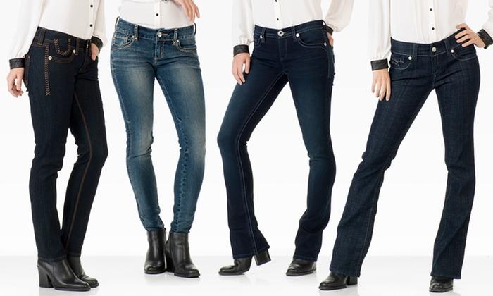 Seven7 Women's Petite Slim, Straight-Leg, Skinny, and Bootcut Denim: Seven7 Women's Petite Slim, Straight, Skinny, and Bootcut Denim. Multiple Styles Available. Free Shipping and Returns.