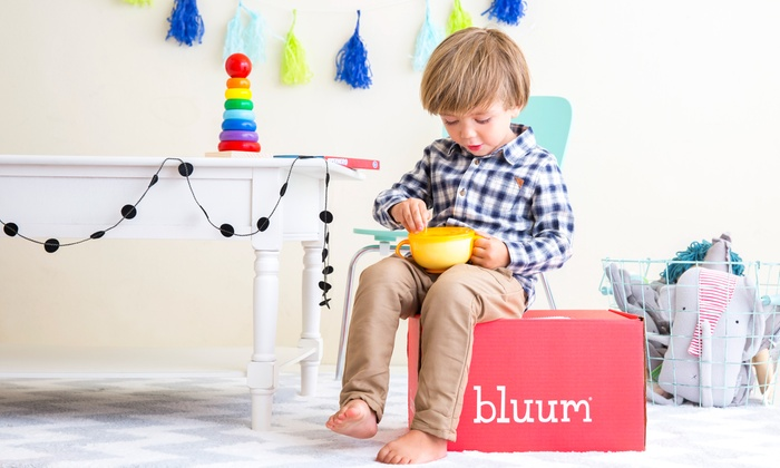 Bluum: Three- or Six-Month Baby-Product Subscription from Bluum (40% Off)