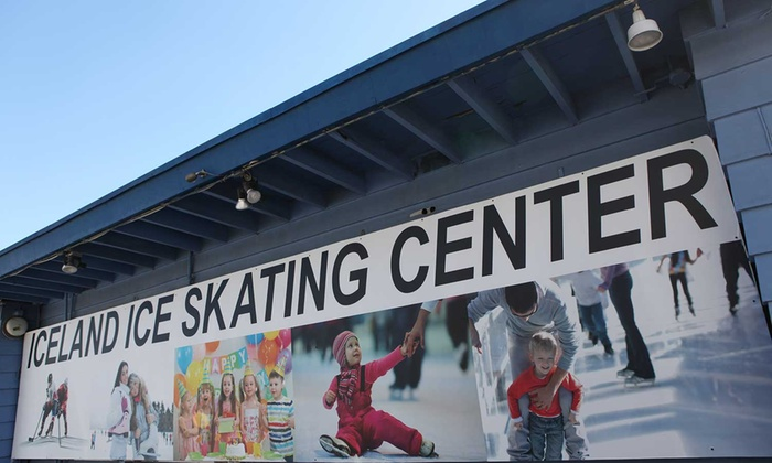 Iceland Ice Skating Center - Van Nuys: Two All-Day Ice-Skating Packages for One, Two, or Four at Iceland Ice Skating Center (Up to 59% Off)