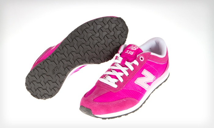New Balance Women's 556 Sneakers: $39 for New Balance Women's 556 Sneakers in Pink with Shipping Included ($57.90 Total Value). Multiple Sizes Available.