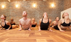 105F - Chicago's Original Hot Yoga: Five Weeks of Unlimited Yoga or 12 Yoga Classes at 105F - Chicago's Original Hot Yoga (Up to 78% Off)