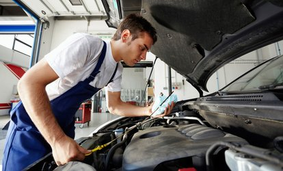 image for State <strong>Inspection and Emissions</strong> Test with Optional Oil Change at JMJ Automotive & Express Lube (Up to 57% Off)
