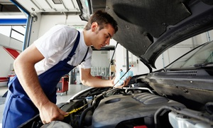 JMJ Automotive and Express Lube: State Inspection and Emissions Test at JMJ Automotive and Express Lube (Up to 61% Off). Two Options Available.