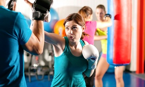 B Street Boxing: One Month of Morning Classes or 10 Drop-In Classes at B Street Boxing (Up to 74% Off)