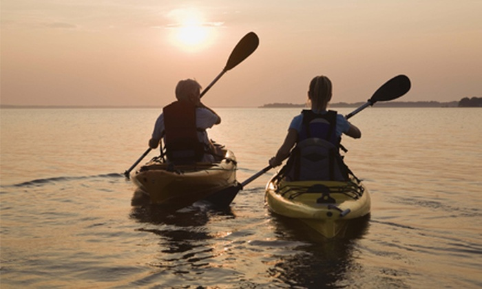 Belle Harbour Marina - Tarpon Springs: One or Two Half-Day Kayak Rentals at Belle Harbour Marina (Up to 56% Off)