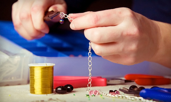 The Bead Studio - Silver Spring: $119 for a Full-Day Beading Boot Camp with Breakfast and Lunch on Saturday, July 27 from The Bead Studio ($250 Value)