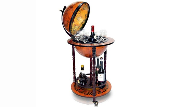 Globe bar drinks cabinet groupon goods 8999 for one small cabinet gumiabroncs Image collections