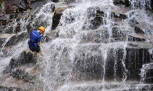 North Ridge Mountain Guides: $99 for Waterfall Rappelling from North Ridge Mountain Guides ($199 Value)