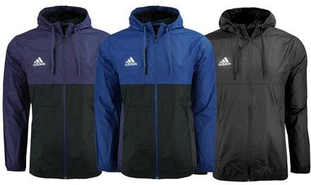 Adidas Men's Essentials Hooded Wind Jacket (S-2XL)