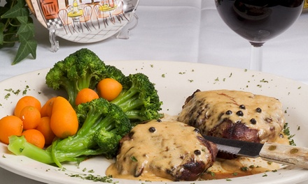 French and Continental Cuisine at French Bistro (40% Off). Two Options Available.