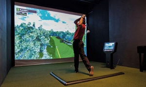 Premier Indoor Golf: One or Three Hours of Indoor Golf-Simulation Play for Up to Four at Premier Indoor Golf (Up to 53% Off)