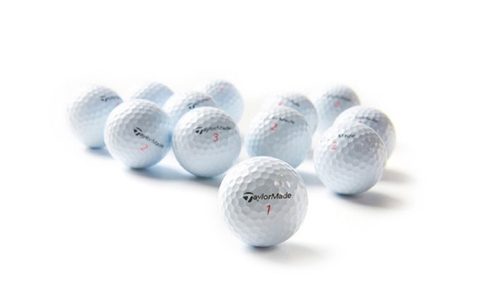 36-Pack of A-Grade Recycled Taylor Made Golf Balls: 36-Pack of A-Grade Recycled Taylor Made Golf Balls