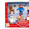 Rudolph the Red-Nosed Reindeer 50th Anniversary 8-Figurine Set