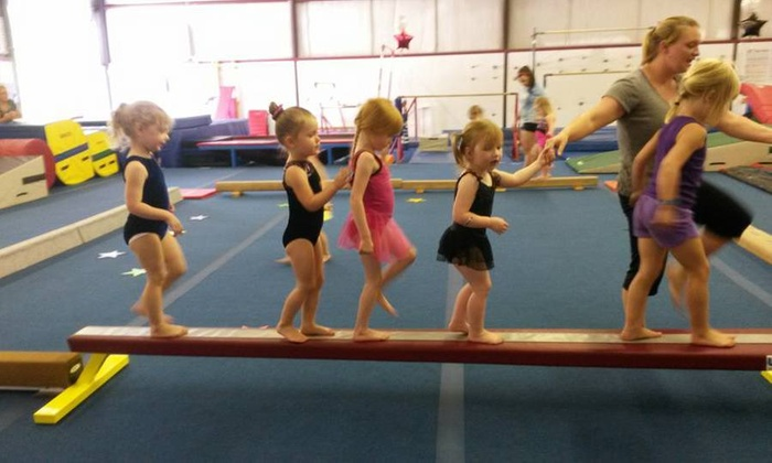 Flipz Gymnastics - Concord: Four Weeks of Gymnastics Classes at Flipz Gymnastics (44% Off)
