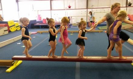 Four Weeks of Gymnastics Classes at Flipz Gymnastics (44% Off)