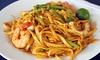 All-you-can-eat-Buffet asiatisch