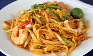 Noodles and Asian Fusion for Two or Four at Zabb Noodles (Up to 55% Off)