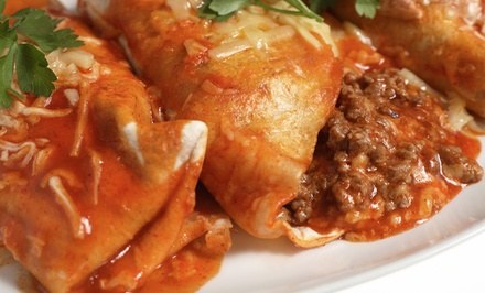 Mexican Fare for Lunch or Dinner at Bandido's Mexican Café (Up to 40% Off). Two Options Available.