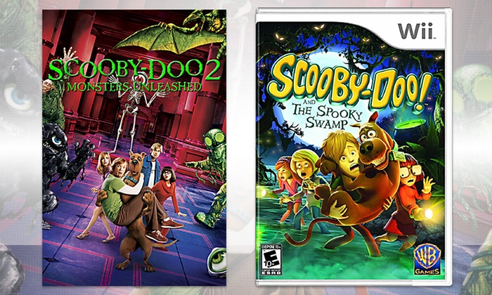 Scooby Doo Wii Game And Movie Groupon Goods