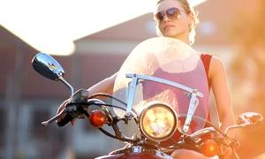 Auto-ecole Janie: Permis moto avec ou sans code pour 1 personne à l'Auto-école Janie dès 399 €
