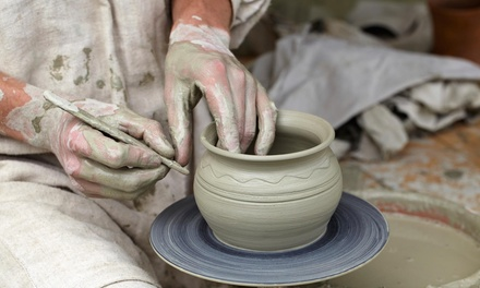 Up to 50% Off Pottery Classes for One or Two at Clay Path Studio