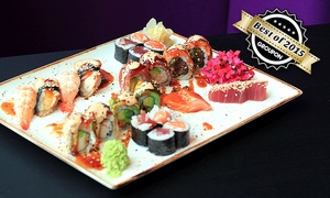 maiGLÜCKchen: Sushi und Sashimi mit Misosuppe und Überraschungsdessert für Zwei im Restaurant maiGLÜCKchen ab 24,90 €
