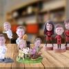 Couple, Single, or Family Custom Bobbleheads from YesBobbleheads.com