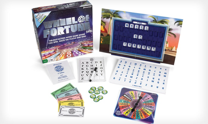 Wheel of Fortune Board Game | Groupon Goods