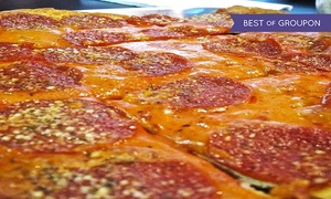 Pirrone's Pizzeria: Pizza and Italian Food at Pirrone's Pizzeria (Up to 45% Off). Two Options Available.