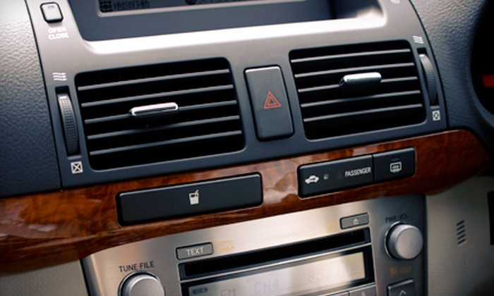 Dallas European Auto - Renner: $75 for a Full Automotive Air-Conditioning Service at Dallas European Auto in Plano ($200 Value)