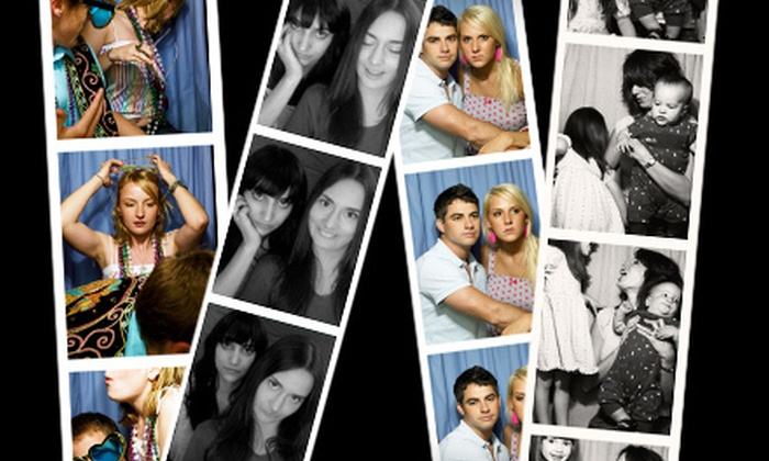Memory Box Photo Booths - Central Jersey: Three-, Four-, or Five-Hour Photo-Booth Rental from Memory Box Photo Booths (Up to 61% Off)