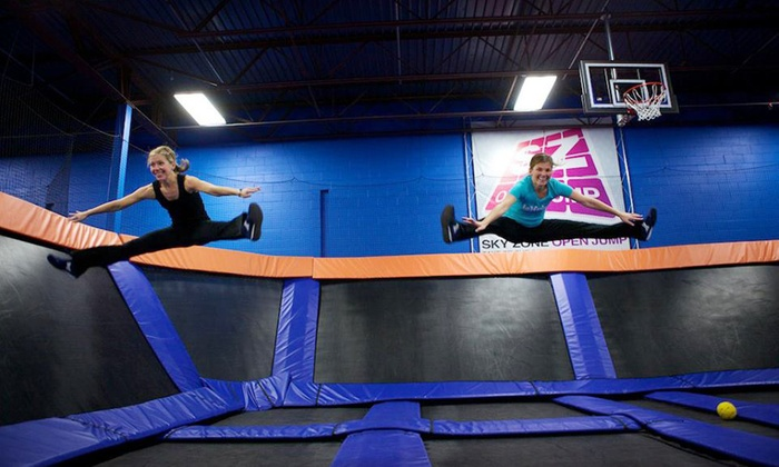 Sky Zone - Memphis - Memphis: Hour of Trampoline Jumping for 2 or 4, or Birthday Party for 10 at Sky Zone (Up to 49% Off). 4 Options Available.