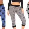Coco Limon Women's Printed Joggers (3-Pack)