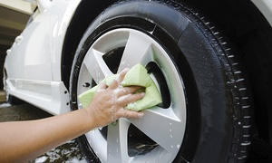 I Wash: Car and Wheel Wash or Silver Valet at I Wash (Up to 45% Off)