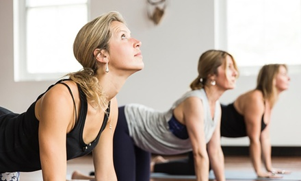 $39 for OneMonth Unlimited Yoga Classes or TenClass Pass at SoHo Yoga Up to $180 Value