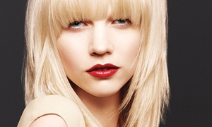 Que Bella Aveda Salon: $35 for a Haircut Package with $20 Toward a Color Service at Que Bella Aveda Salon ($95 Value)