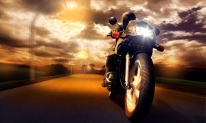 Traffic World Fahrschule: Wertgutschein anrechenbar auf eine Motorrad-Führerschein-Ausbildung (Klasse A) in der Traffic World Fahrschule