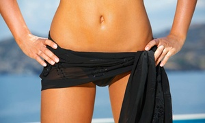 The Naked Peach Waxing Boutique: One or Two Brazilian Waxes at The Naked Peach Waxing Boutique (Up to 45% Off)