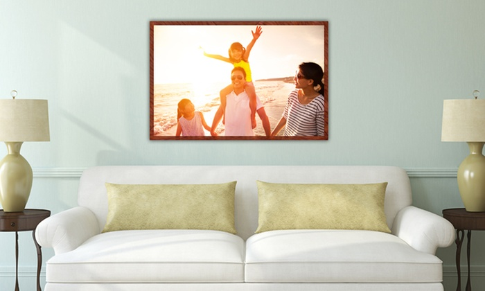 """MyPix2.com: 16""""x20"""", 20""""x24"""", 24""""x36"""", or 36""""x48"""" Personalized Photo Poster from MyPix2.com (Up to 75% Off)"""