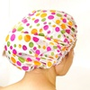 Bath Bliss 3-Pack of Printed Shower Caps