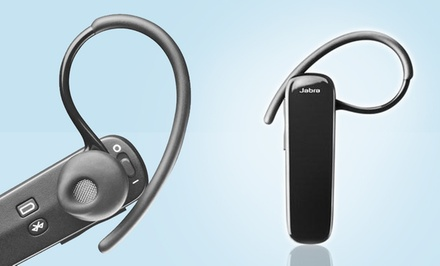 groupon daily deal - Jabra EasyGo Bluetooth Headset (J-EASYGO-RC) (Refurbished).