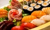 Menu con 50 pezzi di sushi