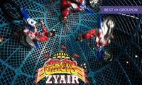Circus Zyair: Two or Four Early Bird Tickets with Popcorn, 6 June, Walpole Park (Up to 76% Off)