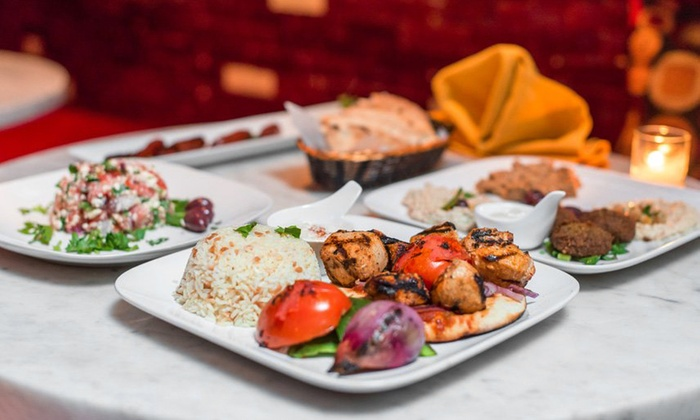 Amoun - Upper East Side: Mediterranean Food and Hookah at Amoun (Up to 46% Off). Two Options Available.