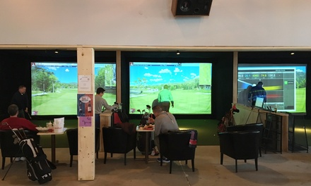 $18 for One Hour of Simulator Golf at Break-Wall ($40 Value)