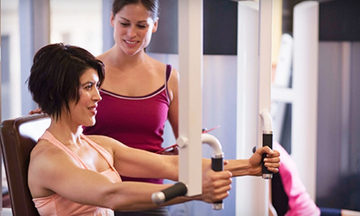 Get In Shape For Women - Multiple Locations: 10 or 12 Group Training Sessions and More at Get In Shape For Women (Up to 72% Off). 42 Locations Available.