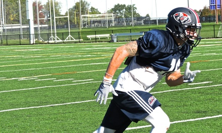 One or Two Tickets to a Boston Brawlers FXFL Football Game at Harvard Stadium October 24 or 31 (Up to 78% Off)