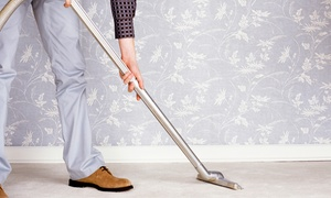 Bye-Bye Dirt Cleaning: Steam Cleaning for Carpet or Upholstery or Tile and Grout Cleaning from Bye-Bye Dirt Cleaning (Up to 57% Off)