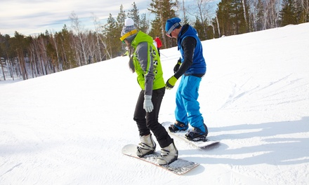 Snowboarding Lessons for Kids and Adults from Ski Masters (Up to 50% Off). Seven Options Available.